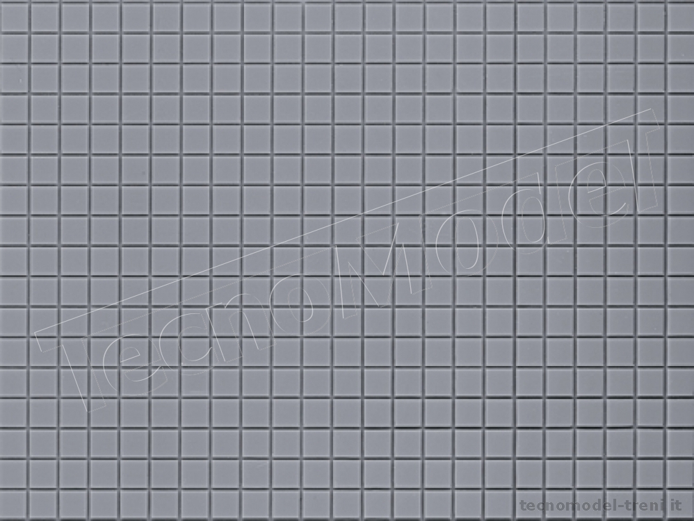 auhagen 52421 pavimento in piastrelle grigie 200 x 100 mm