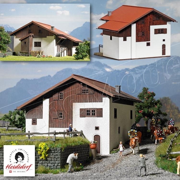 Busch 1442 casa di montagna svizzera stile 39 casa di heidi 39 for Casa in stile magazzino