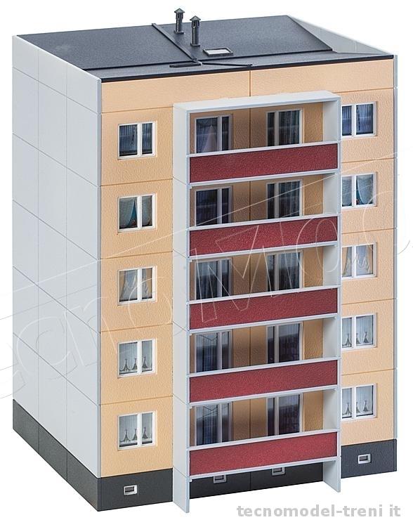 faller 130803 palazzo prefabbricato a 5 piani