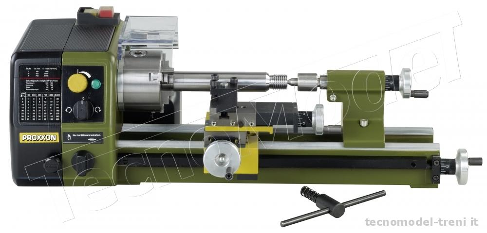Proxxon 24002 tornio di precisione pd 250 e for Mini tornio di precisione