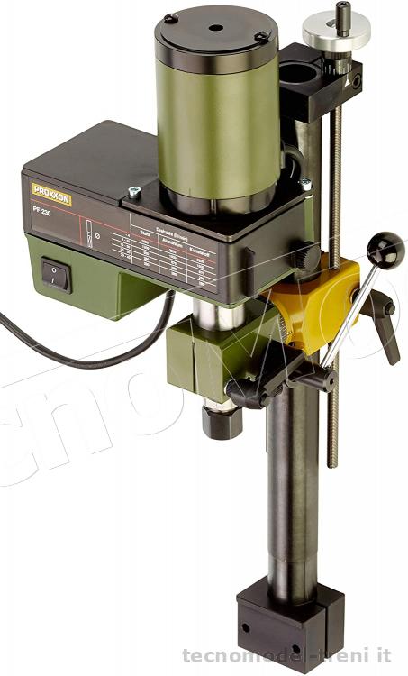 Proxxon 24104 fresatrice foratrice pf 230 il vostro tornio for Tornio proxxon pd 400