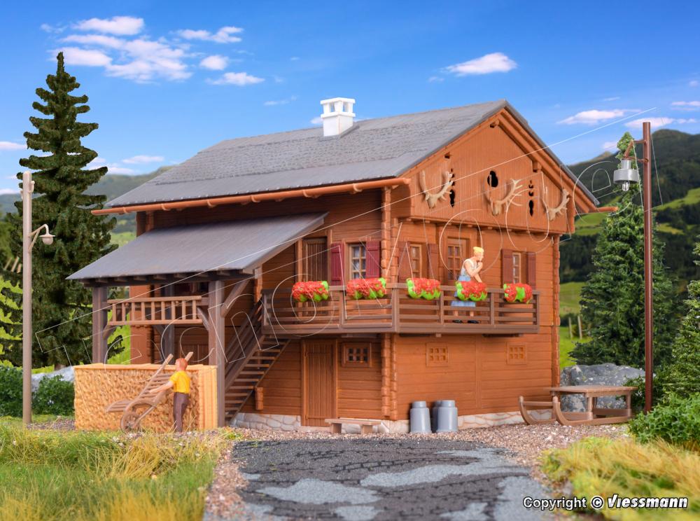 Kibri 38011 casa di montagna con illuminazione a led