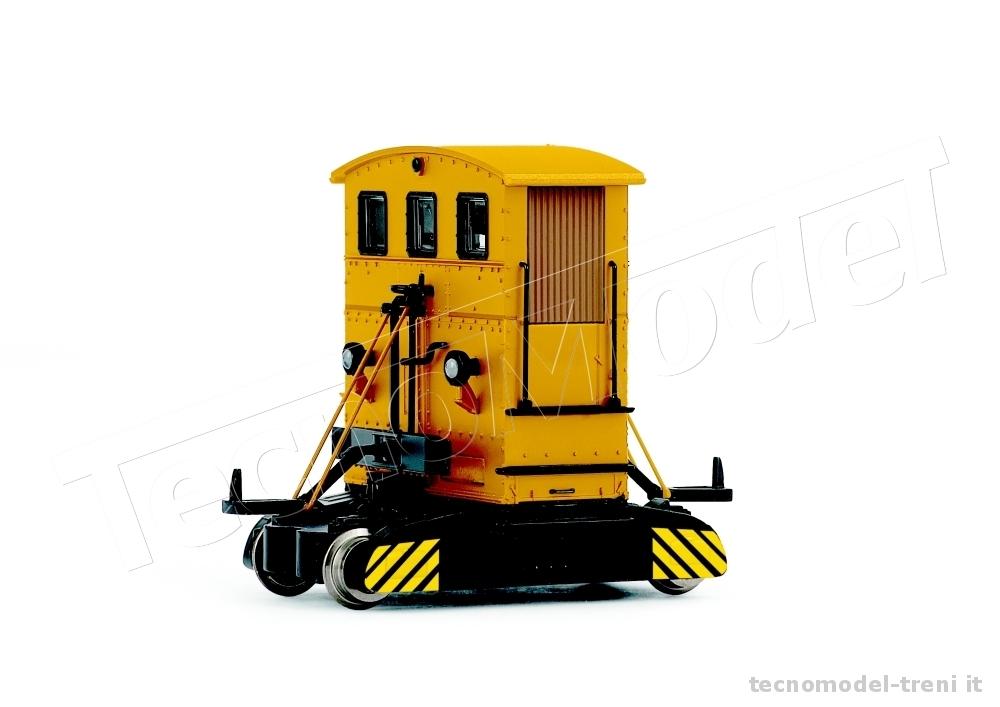 rivarossi hr2721 automotore da manovra tipo breuer 39 sogliola 39 livrea arancio 39 dielektra k ln. Black Bedroom Furniture Sets. Home Design Ideas