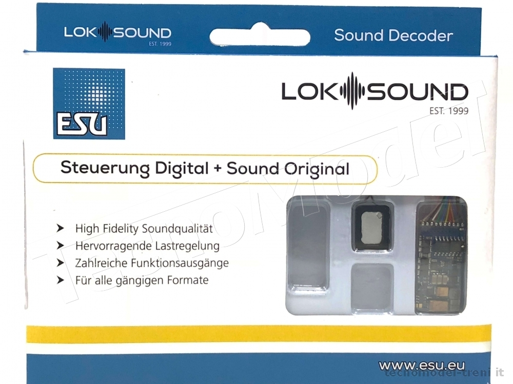 Esu Electronic 58410 LokSound 5 decoder DCC Sound 8 pin