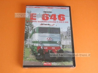 Duegi Editrice E646 DVD E 646 Le classiche locomotive articolate E645/E646 in DVD