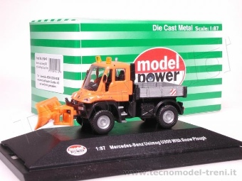 Model Power 19240 Camion spazza neve Mercedes . scala 1/87