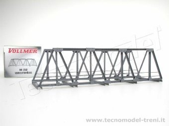 Vollmer 42561 Ponte in travi metalliche per binario singolo 180 mm