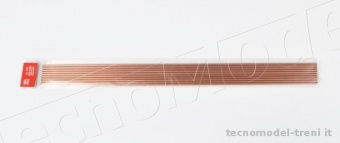 Amati 2750.04 Tubo in rame crudo mm 3.2x4 lunghezza mm 500