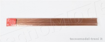 Amati 2750.05 Tubo in rame crudo 4,2 x 5 mm, lunghezza 500 mm