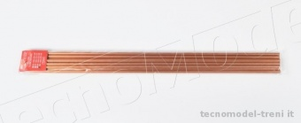 Amati 2750.06 Tubo in rame crudo 5,2 x 6 mm, lunghezza 500 mm