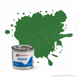 Humbrol A1448 Verde medio satinato Satin 131 - 14 ml.