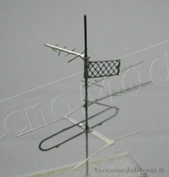 Simplon Model 379K Antenne TV, 4 pz.