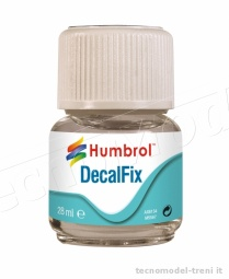 Humbrol AC6134 Decal Fix liquido per applicare decals 28ml.