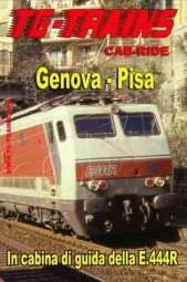 TG-Trains GEPIDVD Genova- Pisa Cab-Ride in DVD Durata 120'
