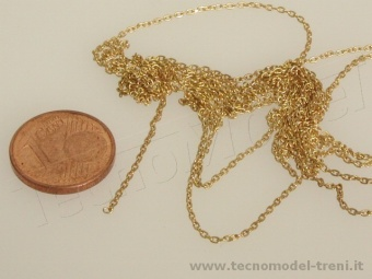 Tecnomodel F451217 Micro catena in ottone 0,3 mm