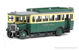 Peco 5133 Model Scene - Autobus 1927 Maudslay ML3