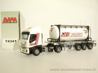 Awm 74341 Trattore stradale Iveco Stralis con Tank Wauters