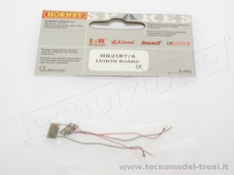 Rivarossi HR2187/6 Set pcb con Led per fari art. HR2187 (E444)