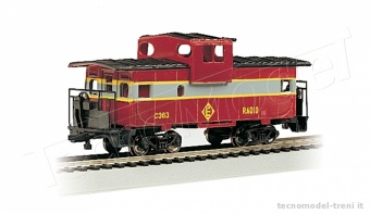 Bachmann 17728 Erie Lackawanna - 36' Wide-Vision Caboose (HO Scale)