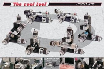 The Cool Tool 160200CNC Unimat CNC 3D Upgrade Set