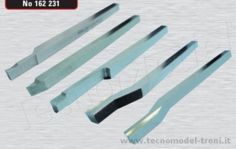 The Cool Tool 162231 Set utensili per tornio 5 pezzi 3,5 mm HSS
