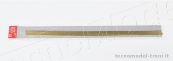 Amati 2753.25 Profilato in ottone 2 x 0,5 mm, lunghezza 500 mm