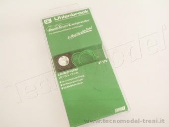Uhlenbrock 31120 Altoparlante 20x20x12 mm per Intellisound