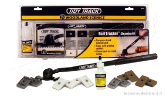 Woodland Scenics TT4550 Rail Tracker™ Cleaning Kit - Set pulisci binari