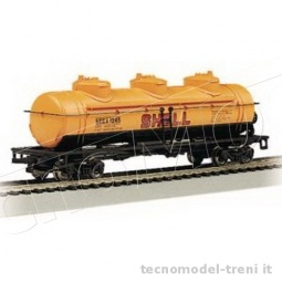 Bachmann 17134 40' 3 dome tank car Shell