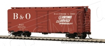 MTH 85-74074 40' PS-1 Box Car - Baltimore & Ohio