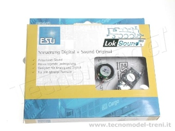 Esu Electronic 54400 LokSound V4.0 Decoder DCC ad 8 pin NEM 652