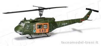 Herpa miniTanks 744423 Kit di montaggio Bell UH 1 D Helikopter