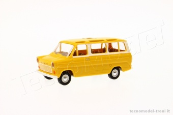 Brekina 34120G Ford Transit mini bus panorama giallo