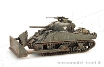 Artitec 387.116 Sherman M4, Dozer tank, UK/US
