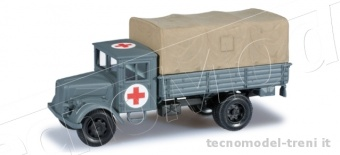 Herpa miniTanks 744737 Deutz canvas truck