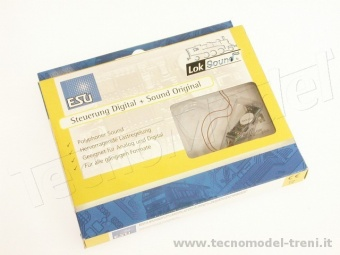 Esu Electronic 54800 Decoder micro Lok Sound V 4.0 6 pin
