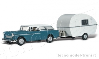 Woodland Scenics AS5532 Thompson's Travelin' Trailer
