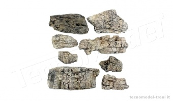 Woodland Scenics C1137 Rocce pronte - Faceted Ready Rocks