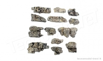 Woodland Scenics C1139 Rocce pronte - Outcropping Ready Rocks