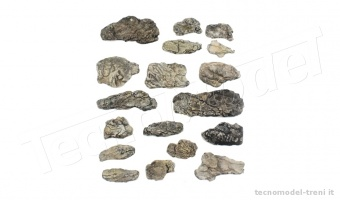 Woodland Scenics C1140 Rocce pronte - Surface Ready Rocks