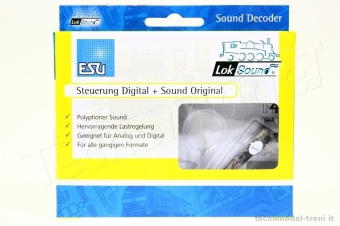 Esu Electronic 56899 Decoder micro Lok Sound V 4.0 8 pin