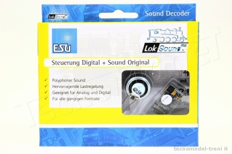 Esu Electronic 56498 LokSound V4.0 Decoder DCC PluX16