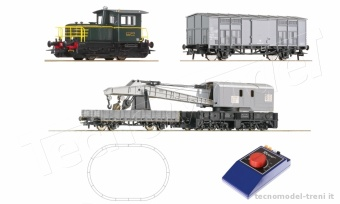 Roco 51157 Start set FS locomotiva diesel D.214 4148