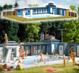 Busch 1433 Piscina all'aperto con accessori