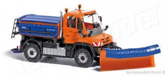 Busch 50912 Mercedes Unimog U430 »Winter«