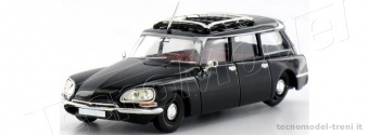 Brekina 14209 Citroen DS Break, nero, TD