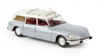 Brekina 14216 Citroen DS Break , color grigio/bianco