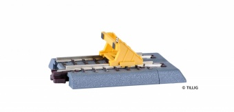 Tillig 83711 Paraurti con binario dritto Scala TT 12mm (1:120)