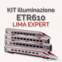 Almrose 2-21204 Kit schede luci ETR610 Lima Expert