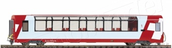 Bemo 3289124 RhB Carrozza Glacier-Express di 2 cl. tipo Bp 2534